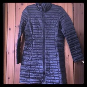 NWT Patagonia Down Fiona Parka in Smolder Blue